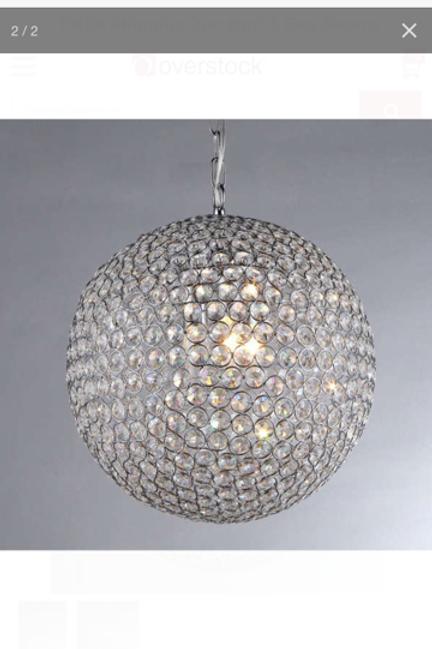 Spherical Pendant Light