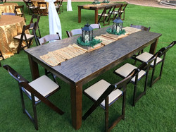 Wood Tabls and Chairs