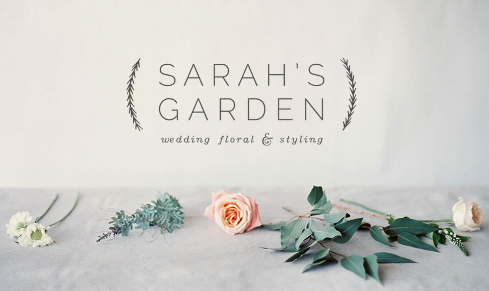 Sarah's Garden Wedding Flowers