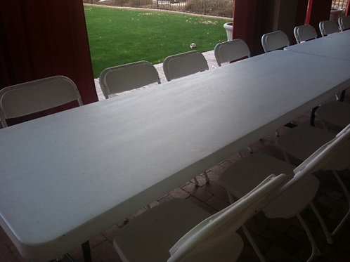 6 FT LONG TABLES