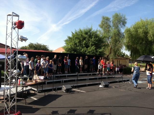 Choir Riser Rentals