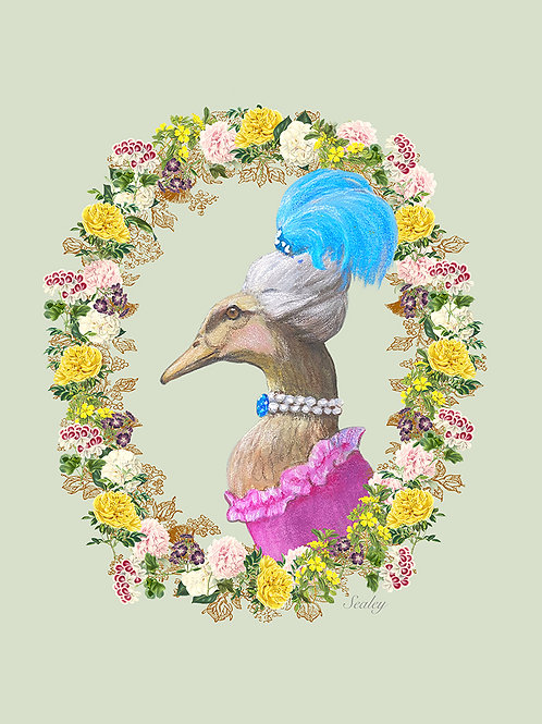 Lady Mallard Digital Download