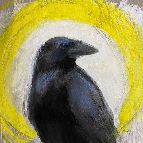 Raven Abstract, Digital Download