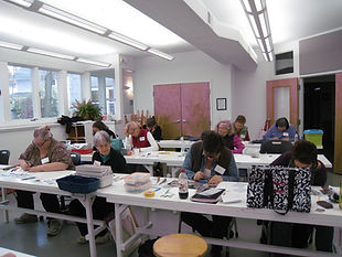 Holly Gage workshop in Cleveland