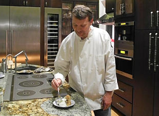 Chef Christopher Gage in the Kitchen