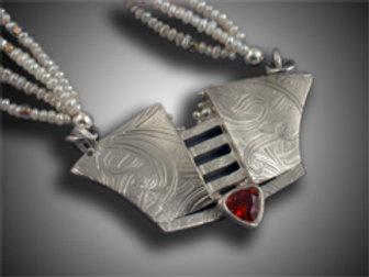 Deco Necklace by Holly Gage