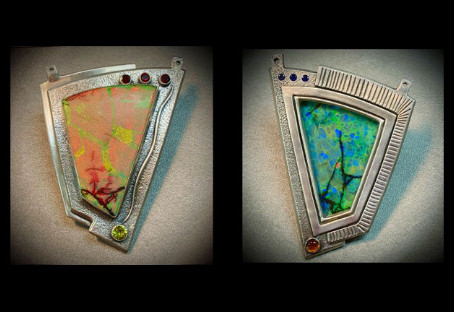 Secrets of Creating A 2-Sided Pendant by Holly Gage