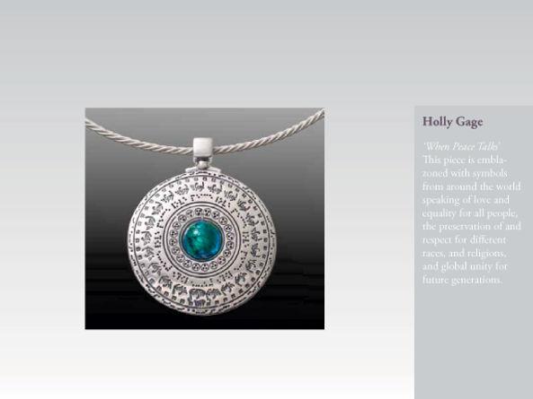 Peace, Love Equality jewelry