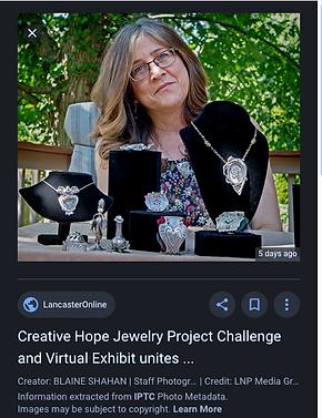 Creative Hope ewelry Project