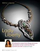 About Holly Gage silver jewelry