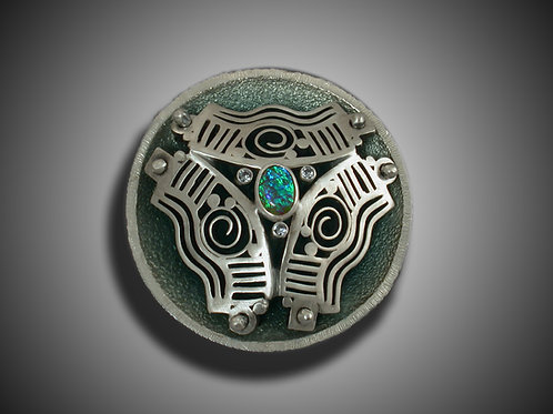 Another Dimension Brooch by Holly Gage