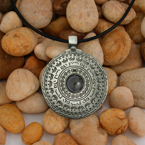 Pewter Pendant Necklace