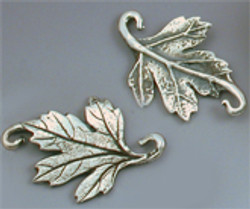 Silver leaves by Holly Gage