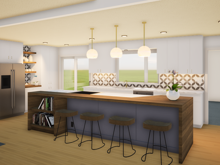 Kitchen Remodel with Twinmotion