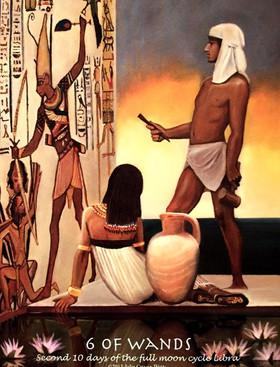 Journey into Egypt Tarot