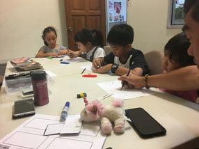 Fantasy comic drawing workshop