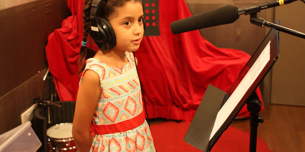 Intro to Voice Over workshop