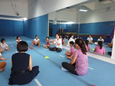 Basic acrobatics workshop