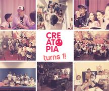 Creatopia Turns 1!