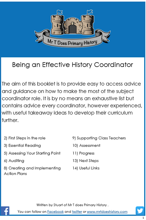 Being an Effective Subject Leader
