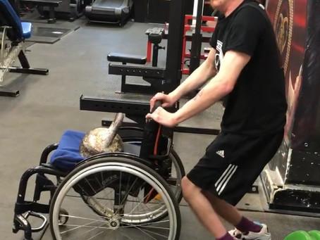 Wheelchair bindings