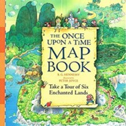 Once upon a time map book