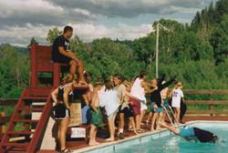 Easley pool campers