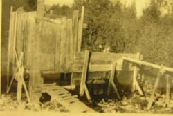 Hot Springs wood frame