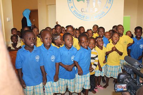 Journée dans un centre pour enfants au Burkina Faso