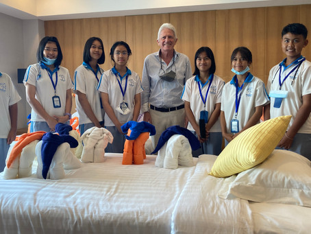 WORLD CHEF'S DAY AND HOSPITALITY WORKSHOP CSR ACTIVITY AND MEMORIAL FOR KING RAMA 9