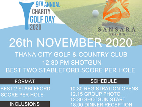 THE BEAUMONT PARTNERSHIP 9TH ANNUAL CHARITY GOLF DAY 26TH NOVEMBER 2020