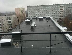 Ремон мягкой кровли крыши Кемерово наплавляемый матариал Техно Николь Техноэласт