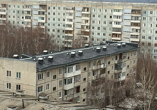 Ремонт железобетонной крыши панельного дома Кемерово Наплавляемая кровля