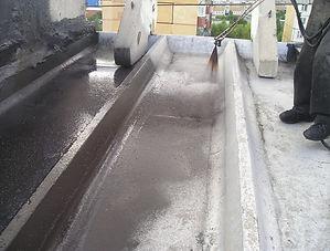 Капитальный ремонт железобетонной ребристой крыши Кемерово Жидкая резина