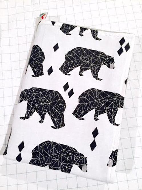 Geo Bear Snuggle Blanket