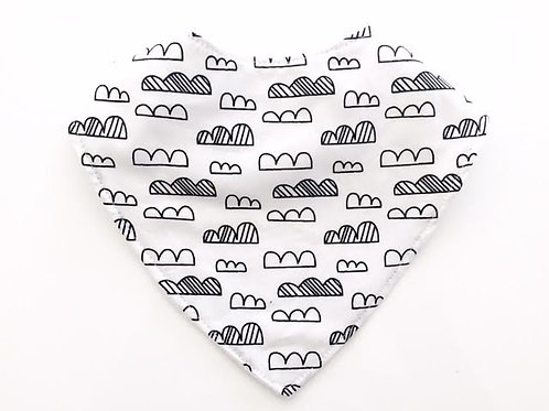 Clouds Dribble Bib
