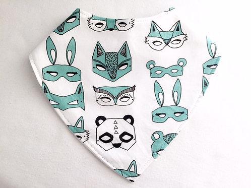 Mint Masks Dribble Bib