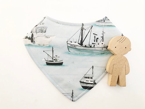 Fishing Fleet Dribble Bib
