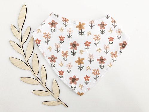 Micro Floral Dribble Bib