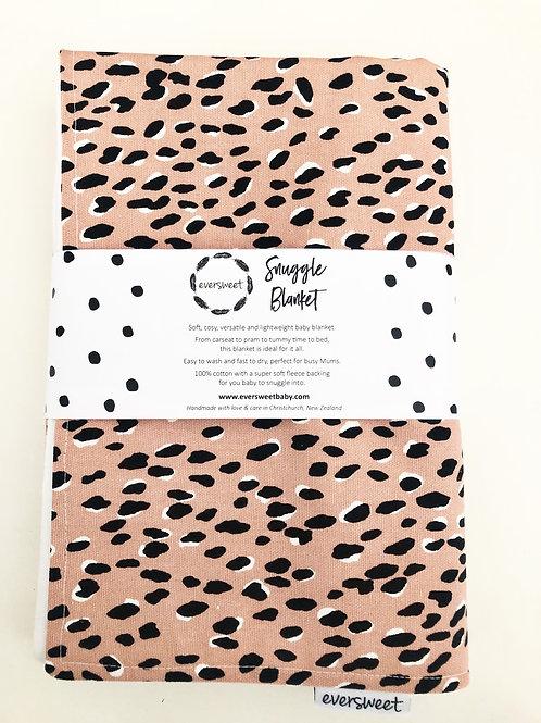 Pink Leopard Snuggle Blanket