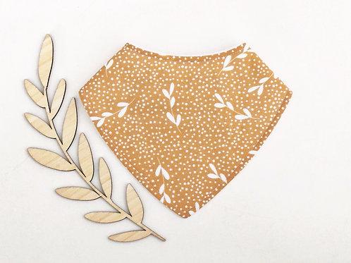 Gold Leaf Dribble Bib