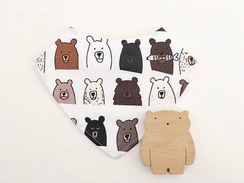 Bears Dribble Bib