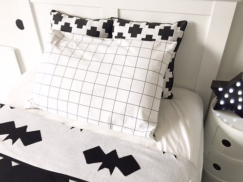 Grid Pillowcase