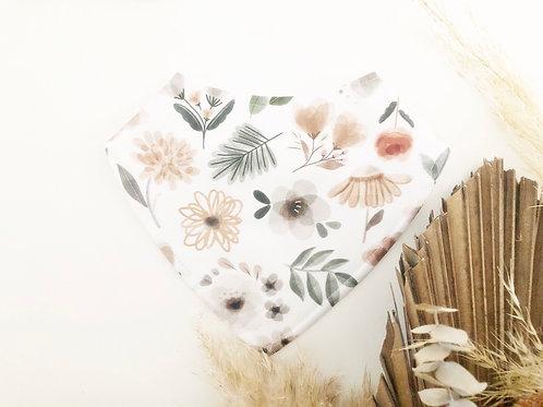 Watercolour Floral Dribble Bib
