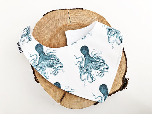 Octopus Dribble Bib