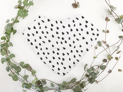 Inky Dots Dribble Bib
