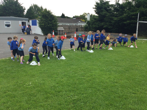 Our First Sports Day