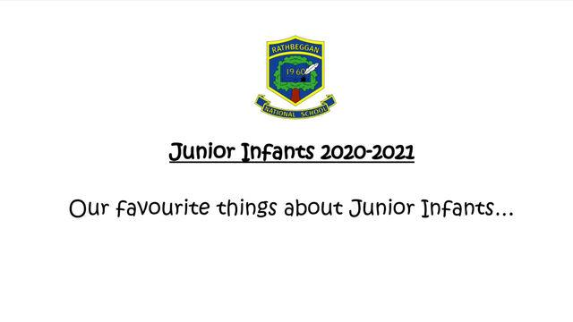 Farwell Junior Infants!