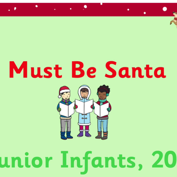 Merry Christmas from Junior Infants