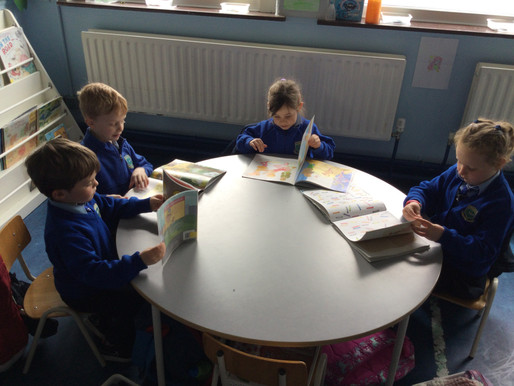 Our First Library Books